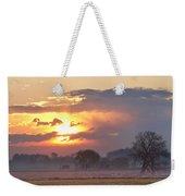 Misty Country Sunrise  Weekender Tote Bag