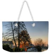 Misty Days And Mondays Weekender Tote Bag