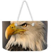 Misty Eagle Weekender Tote Bag
