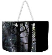 Misty Light At Second Beach Weekender Tote Bag