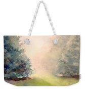 Misty Morning 2 Weekender Tote Bag