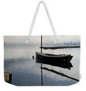 Misty Morning On Lake Bohinj Weekender Tote Bag