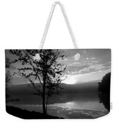 Misty Reflections Bw Weekender Tote Bag