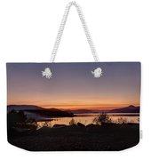 Misty Sunset Weekender Tote Bag
