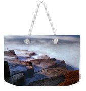 Misty Tide At Monument Cove Weekender Tote Bag
