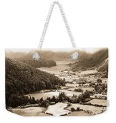Misty Valley Weekender Tote Bag