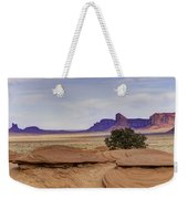 Mitchell Butte From Mystery Valley Weekender Tote Bag
