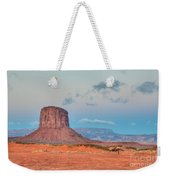 Mitchell Butte In Monument Valley Weekender Tote Bag by Clarence Holmes