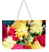 Mixed Celosias In Fall Colors Weekender Tote Bag