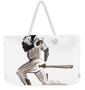 Mlb Base Hit Weekender Tote Bag