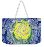 Modern Art Five Weekender Tote Bag