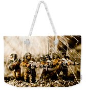 Modern Battle Field Weekender Tote Bag
