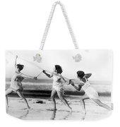 Modern Dance On The Beach Weekender Tote Bag