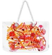 Modern Drawing 105 Weekender Tote Bag
