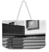 Modern Morrison Bw Palm Springs Weekender Tote Bag