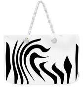 Modern Zebra  Weekender Tote Bag