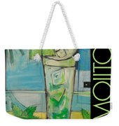 Mojito Poster Weekender Tote Bag