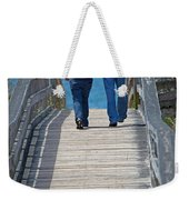 Moments With Dad Weekender Tote Bag