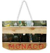 Monaco Wooden Crate Weekender Tote Bag