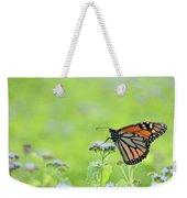 Monarch And Mist Weekender Tote Bag