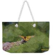 Monarch Butterfly Weekender Tote Bag