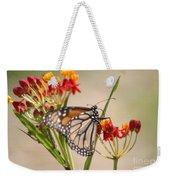 Monarch Portrait Weekender Tote Bag