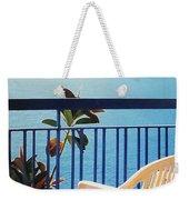 Mondello Bay Sicily Weekender Tote Bag