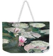 Monet's Lily Pads Weekender Tote Bag
