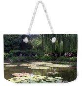 Monet's Water Garden Weekender Tote Bag