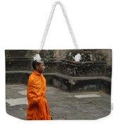 Monk At Ankor Wat Weekender Tote Bag
