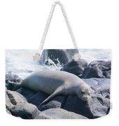 Monk Seal Weekender Tote Bag