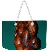 Monkey Carving Weekender Tote Bag