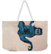 Monkey Stealing An Apple Weekender Tote Bag