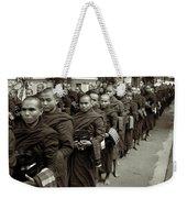 Monks In The Monastery Weekender Tote Bag