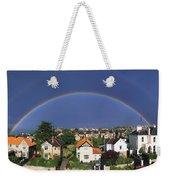 Monkstown, Co Dublin, Ireland Rainbow Weekender Tote Bag