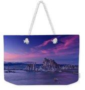 Mono Lake's Fiery Sky Weekender Tote Bag