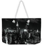 Monochrome City Weekender Tote Bag