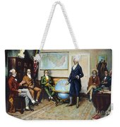 Monroe Doctrine, 1823 Weekender Tote Bag