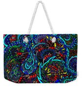 Monster Wave Weekender Tote Bag
