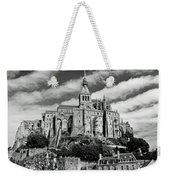 Mont St. Michel Weekender Tote Bag