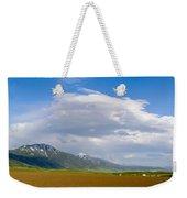 Montana Ploughed Earth Field Weekender Tote Bag