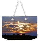 Montana Sunset Weekender Tote Bag