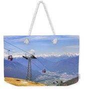 Monte Tamaro - Switzerland Weekender Tote Bag
