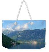 Montenegro's Bay Of Kotor Weekender Tote Bag