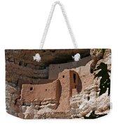 Montezuma Castle Cliff Dwellings In The Verde Valley Of Arizona Weekender Tote Bag