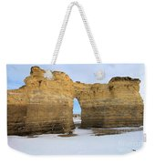 Monument Rocks Arch Weekender Tote Bag