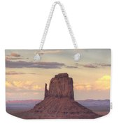 Monument Valley - East Mitten Butte Weekender Tote Bag