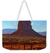 Monument Valley 2 Pastel Weekender Tote Bag