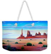 Monument Valley Weekender Tote Bag