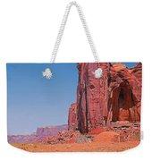 Monument Valley Elrphant Butte And Hogan Weekender Tote Bag